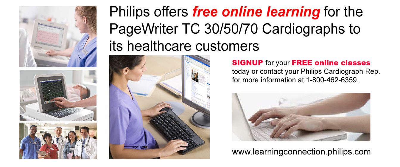 Free Online Training for Cardiograph Customers