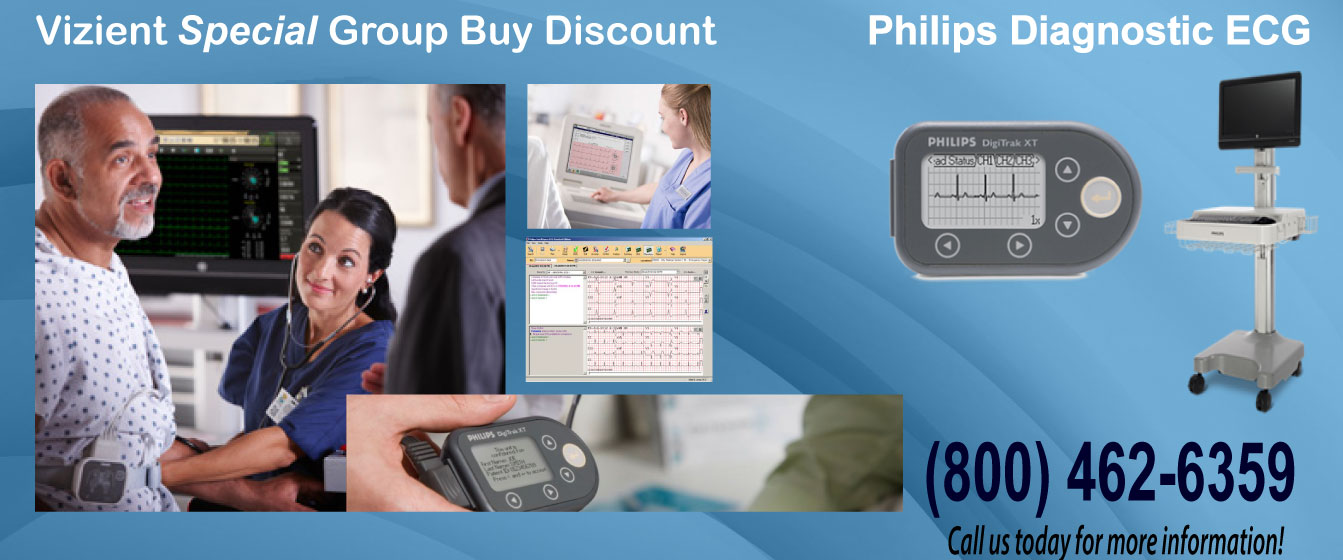 Special Discount on Philips Diagnostic ECG
