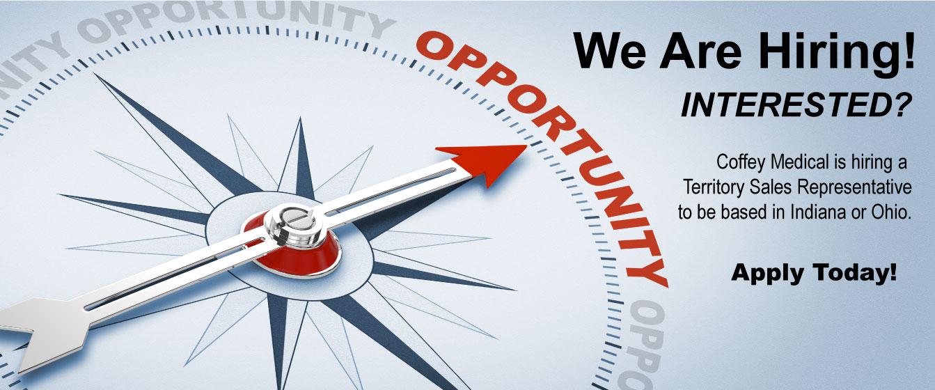 Seeking a Territory Sales Representative